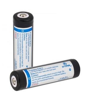 Аккумулятор XTAR Li-ion с защитой  (3.7 В, 2600 мА/ч)