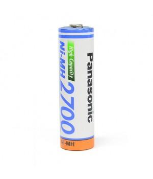 Аккумуляторный элемент Panasonic  2700 Ni-MH AA (1.2 B, 2500 мА/ч)