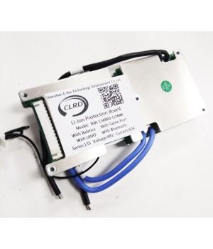 Плата защиты для литиевых аккумуляторов c балансиром и UART/Bluetooth 13S(48.1V/60А) Maxpower