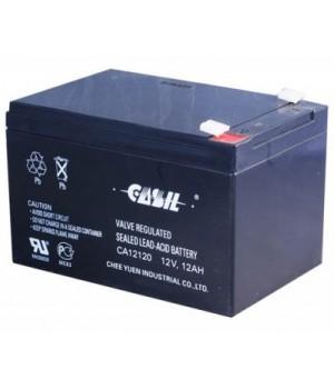 Аккумулятор свинцово-кислотный CASIL CA12120 (12V 12Ah)